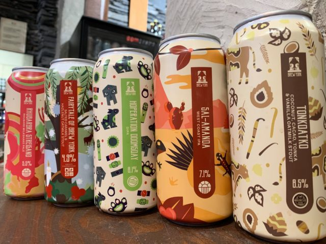 Nouvelle brasserie Brew York